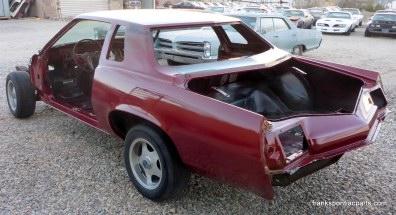 1969-72 Pontiac Grand Prix Fender Emblem Model J